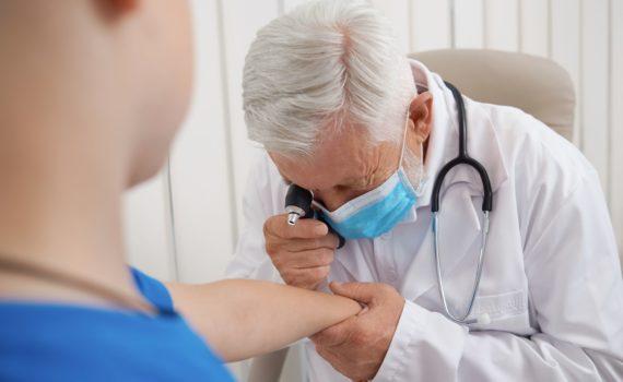 Dermatološki pregled je vrsta specijalističkog pregleda koji obuhvata pregled kože i sluzokože celog tela i kožnih dodataka: noktiju i kose.